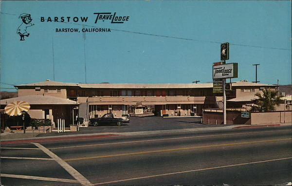 card00146 fr - Barstow Travel Lodge, CA